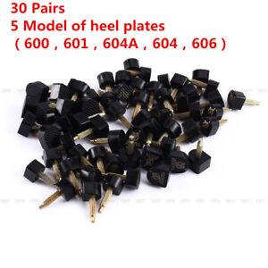 60PCS 5-Sizes High Heel Shoe Repair Tips Taps Pins Dowel Lifts Replacement