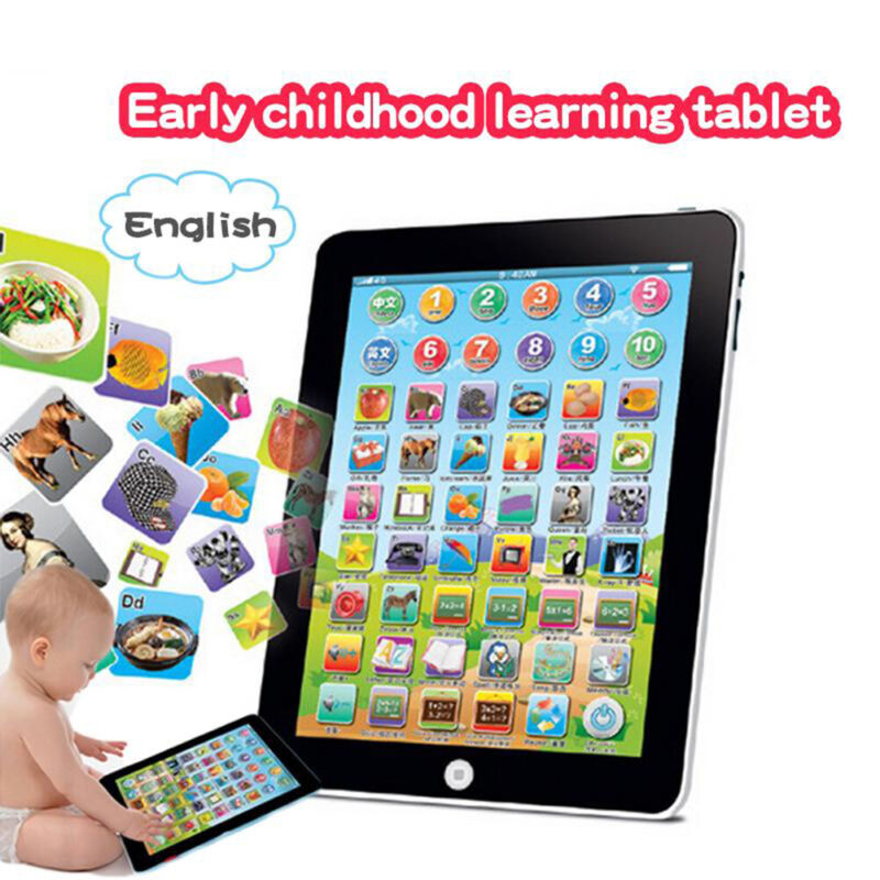 Kids Boy Girl Educational Toys For 1-6 Year Olds Toddlers Baby Learning Tablet
