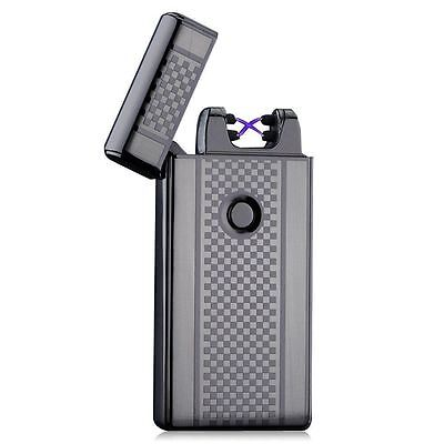 Dual Arc Electric USB Lighter Rechargeable Plasma Windproof Flameless - Flameless Lighter