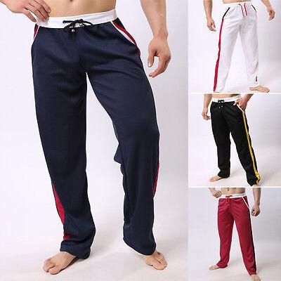 Men's Track Pants Casual Sports Harem Taper Sweats Gym Trousers Slim Cuff M/L/XL