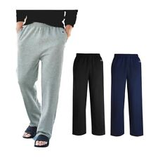 Champion Men's P800 Double Dry Eco Fleece Open Bottom Pants With Pockets