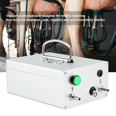 Electric Milking Pulsator Vacuum Pump Air Cow Milking Machine Milker For Milking