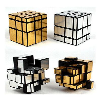 3x3x3 Mirror Bump Magic Cube Smooth Twisty Puzzle Brain Trainer Educational Toys