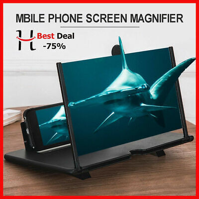 Thin Foldable Mobile Phone Screen Amplifier 3D HD Stand Best Cell Holder (Best Cell Phone Screen)