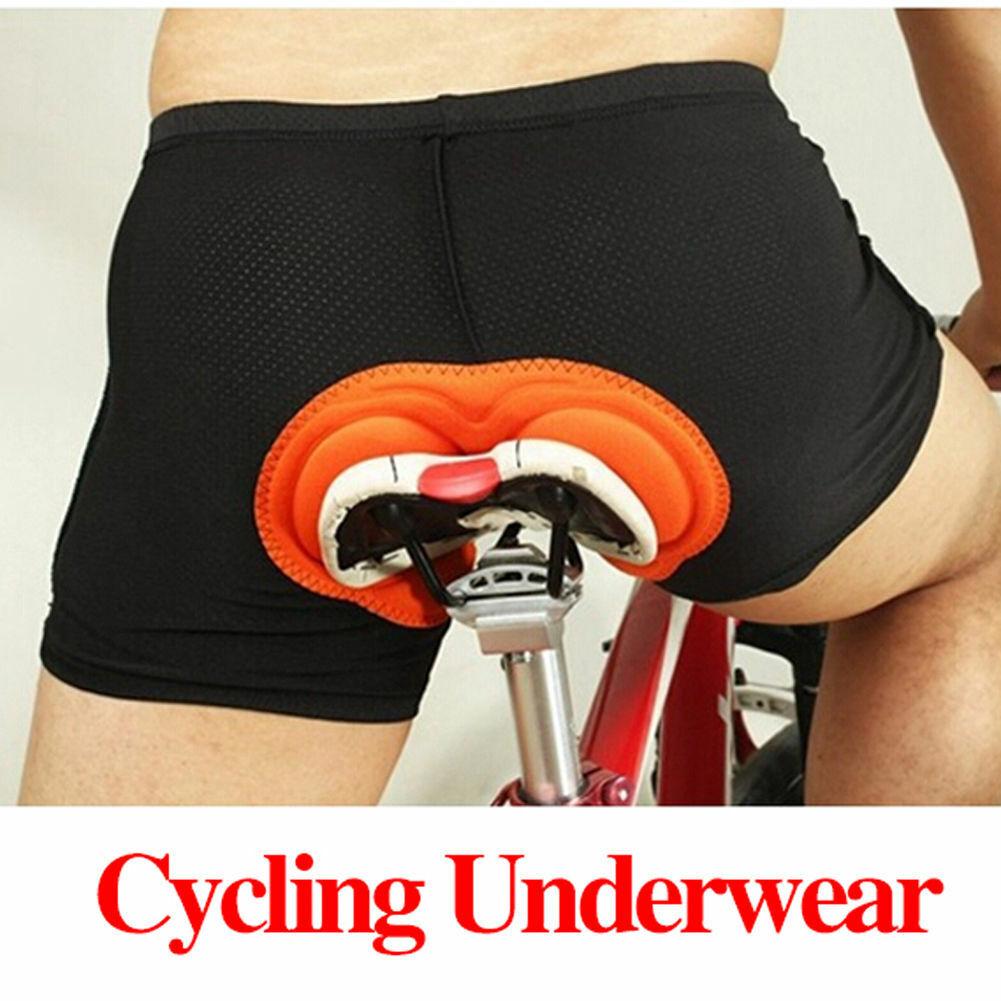USA Men Women Cycling Underwear 3D Padded Bike Bicycle Short