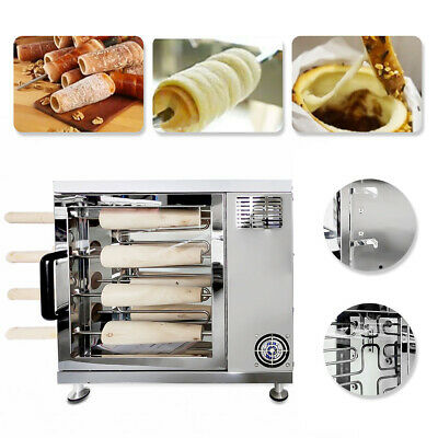 Electric Chimney Cake Oven Roll Grill Machine Commercial Cooking Equipment Tool
