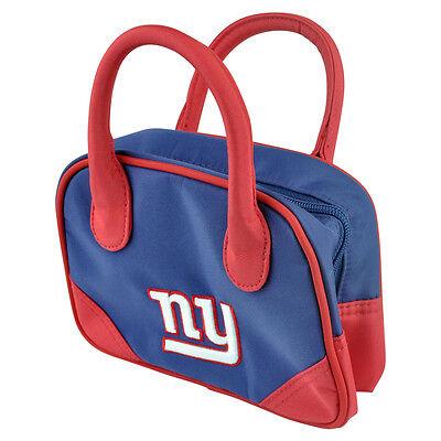NFL New York Giants Mini Bowler Handtasche Zweifarbig Zubehör Fußball Damen ()