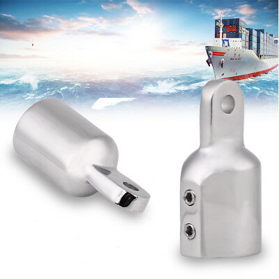 (7/8'' 22mm Stainless Steel Eye End Marine Boat Bimini Top Cap Fitting Hardware)