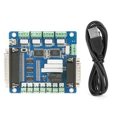 5axis Cnc Breakout Board With Usb Cable Fr Stepper Motor Drive Controller Mach3