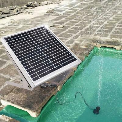 Solar Water Panel Power High Power Fountain Pump Kit Pond Watering Submersible