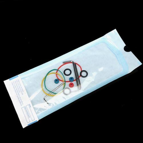 200 Pcs Dental Self-sealing Sterilization Pouch Bag Dual Indicators 6 Sizes