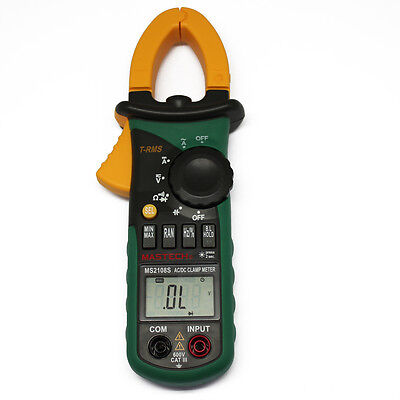 Ms2108s T-rms Dc Clamp Meter Nrush Compared W Fluke Current Digital Meter