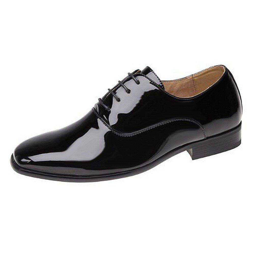 Goor Smart Shiny Patent Leather Lined