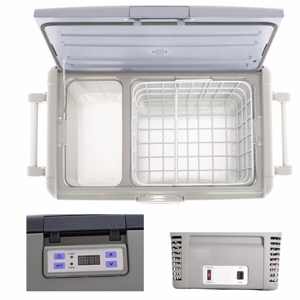SMAD Portable Mini Car Refrigerator Freezer Truck Boat Travel 1 8 CU FT 12v  24v