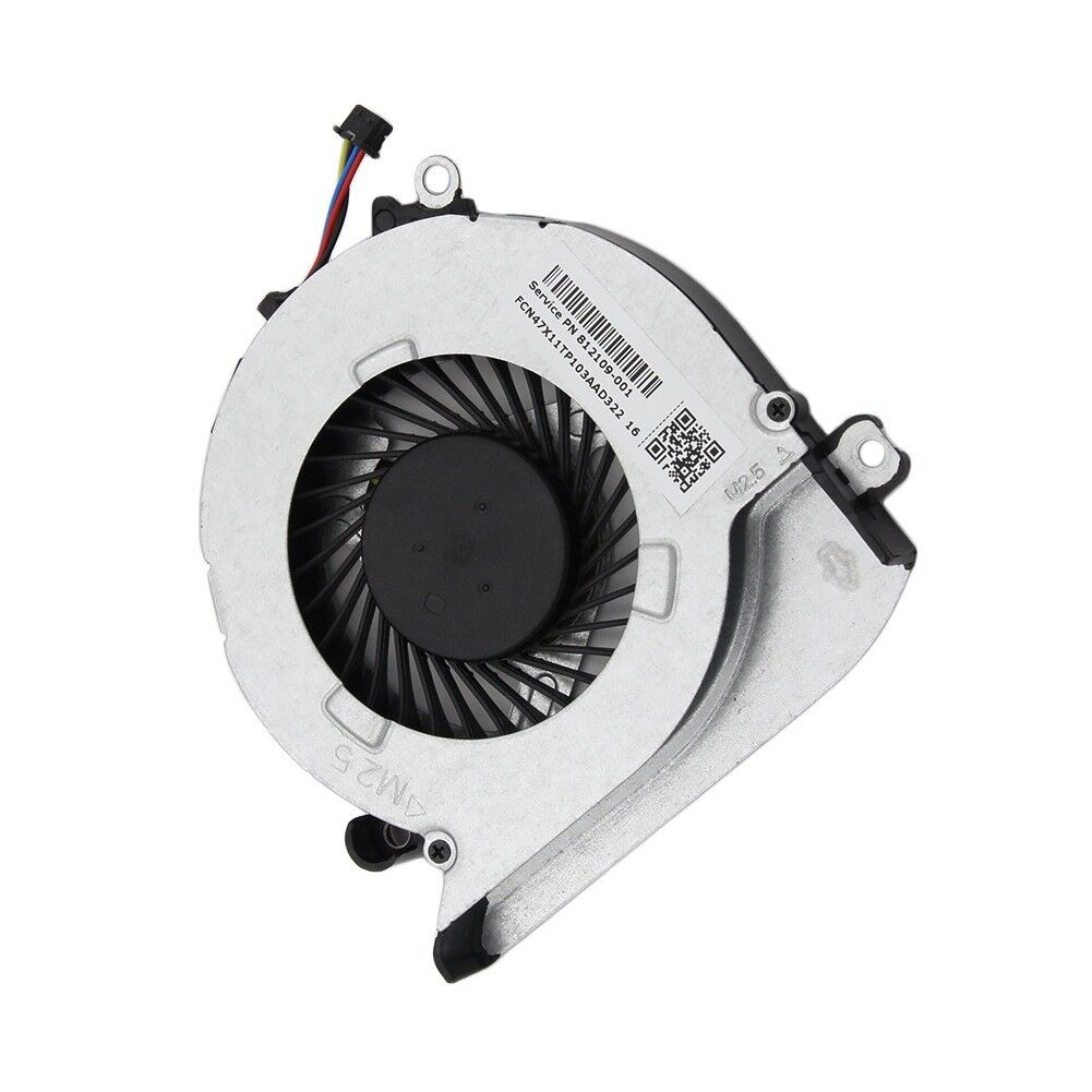 HP 15-AB Series CPU Cooling Fan and Heatsink 812111-001 812109-001