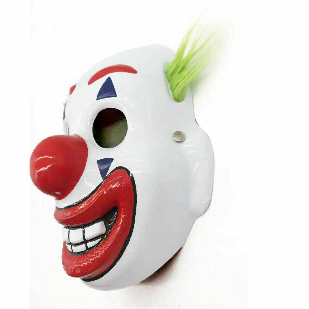 2019 Cosplay DC Movie Joker Arthur Fleck Mask Halloween Masquerade Clown Mask