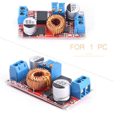 Lithium Battery Charging Board Led Drive Power Converter 5a Dc To Dc Cc Cv