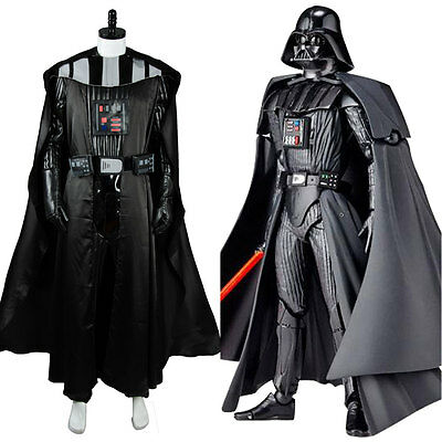 Star Wars Sith Darth Vader Anakin Skywalker Uniform Cosplay Costume Outfit Suit (Sith Outfit)