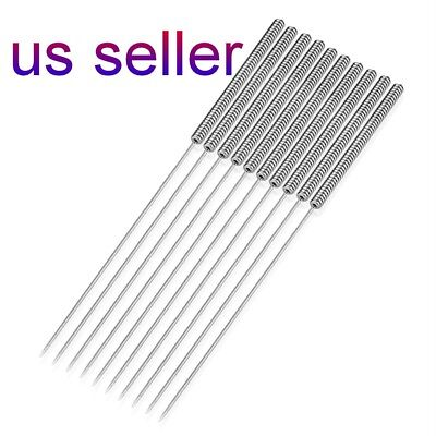 4PCs Bendable drill needle for cleaning of 3D printer nozzle   0.4mm