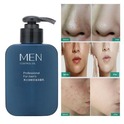 Men Facial Care Set Skin Moisturizing Nourishing Oil Control Cleanser Toner Kit Oil Control Skin Kit
