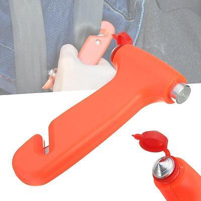 Fantastic 2 in 1 Car Glass Window Breaker Emergency Hammer Seat Belt Cutter BY