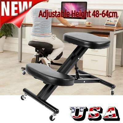 New Ergonomic Kneeling Chair Adjustable Stool Beautify Hips Backbone Comfortable