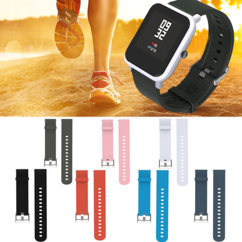 Silicone Sports Strap Band For Xiaomi HUAMI AMAZFIT Bip Youth Watch Simple
