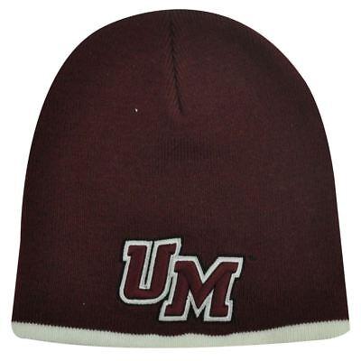 - NCAA BEANIE KNIT HAT CAP COTTON UMASS MINUTEMEN MAROON
