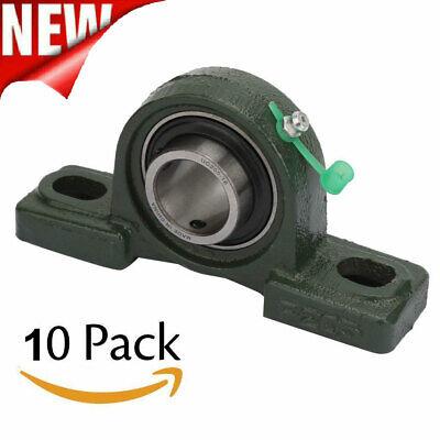 Ucp205-16 Pillow Block Bearing Premium 1 Inch Bore 2 Bolt Solid Base 410 Piece
