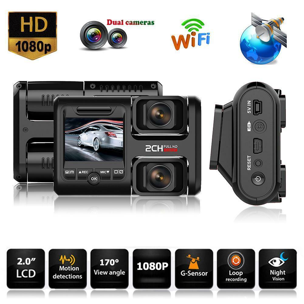 T692C 1080P FHD Dual Lens Night Vision Car DVR Camera Vedio