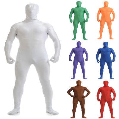 Lycra Full Body Zentai Suit for Halloween Men Second Skin Tight Bodysuit Costume - Full Body Costumes For Halloween
