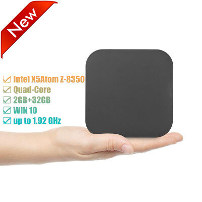 Mini PC Für Win 10 Intel Quad Core 4K ULTRA HD 2+32GB DDR3 WiFi Bluetooth 4.0