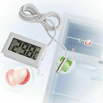 LCD Digital Termómetro Temperatura Acuario Sonda Peces Tanque Habitación Nevera