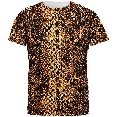 Halloween Desert Brown Snake Snakeskin Costume All Over Mens T - Halloween Desert