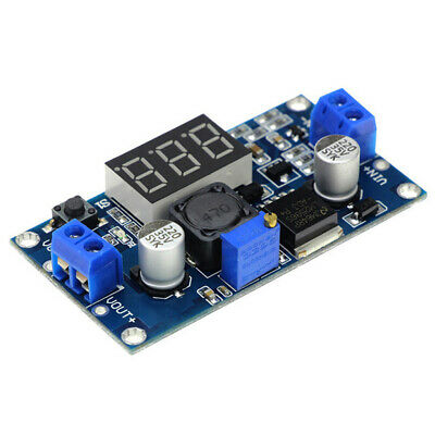 Lm2596 Dc-dc Digital Display Adjustable Step-down Power Converter Module Parts