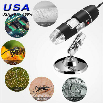 8led 1000x 10mp Usb Digital Microscope Endoscope Magnifier Camera Handheld Gift