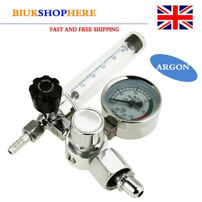 G5/8-14 Argon Gas MIG TIG Welding Flow Meter Regulator Pressure Reducer Gauge