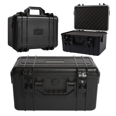 Plastic Tool Boxes Protective Equipment Hard Carry Case Camera Removable Foam UK