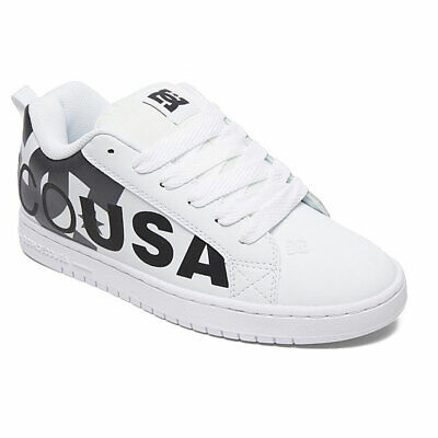 DC Shoes Men's Court Graffik SE Low Top Sneaker Shoes White Cement (Court Graffik Se Sneaker)