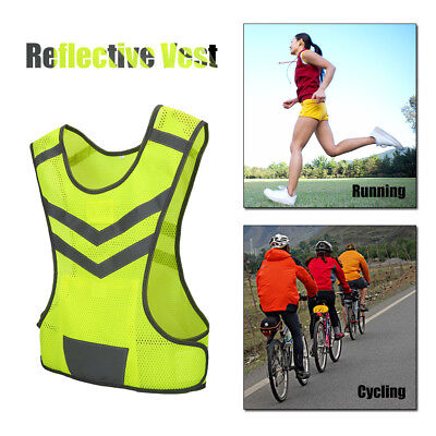 High Safety Security Visibility Reflective Vest Construction Sportworktraffic