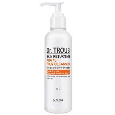 [Sidmool] Dr.Troub Skin Returning AHA 10 Body Cleanser 200ml K-beauty
