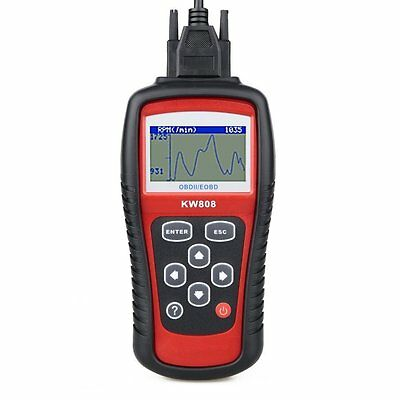 MaxiScan MS509 KW808 OBD2 OBDII EOBD Scanner Car Code Reader Tester Diagnostic, used for sale  Shipping to Canada