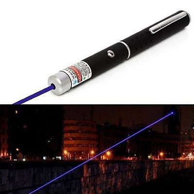405nm 1mw Powerful Visible Light Beam Blue Focus Burning Laser Pointer Pen Torch