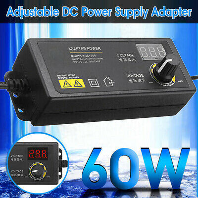 3 To 24v Adjustable Voltage Ac Dc Switch Power Supply Adapter 60w Led Display