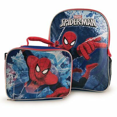 Awesome Backpacks For Girls (Marvel Amazing Spider Man Backpack with Detachable Insulated Lunch Kit for)
