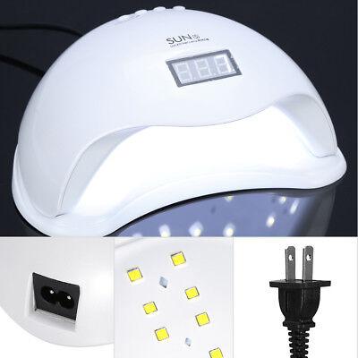 48W SUNUV SUN5 Nail Lamp UV Lamp Nail Dryer for UV LED Gel Polish