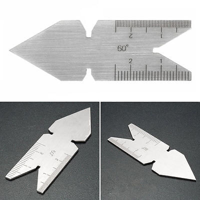 Center Gauge Iso 60 Inch Metric Screw Thread Pitch Gauge Measuring Lathe Tool