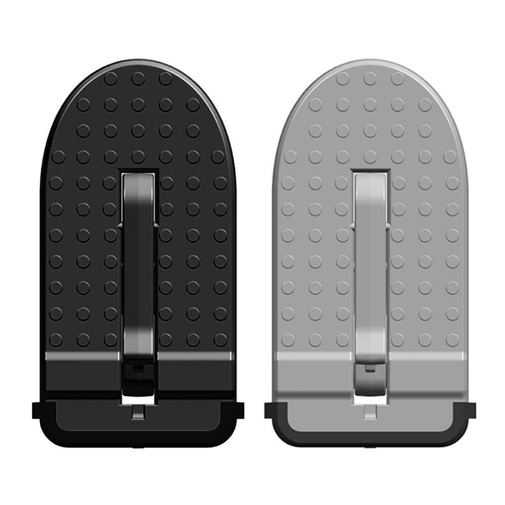 Folding Car Door Latch Hook Step Mini Foot Pedal Ladder for