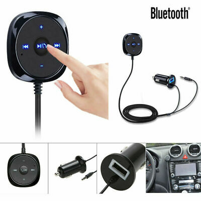 Bluetooth-wireless-audio (Auto Bluetooth Wireless Audio Receiver Empfänger Musik Stereo 3.5mm Adapter AUX)
