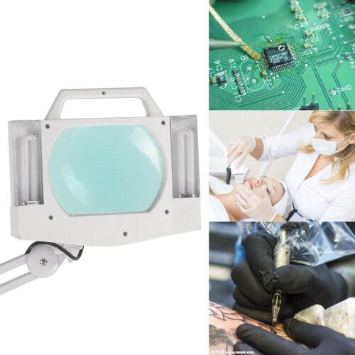 5x Desk Clamp Mount Magnifier Bulb Light Lamp Magnifying ...